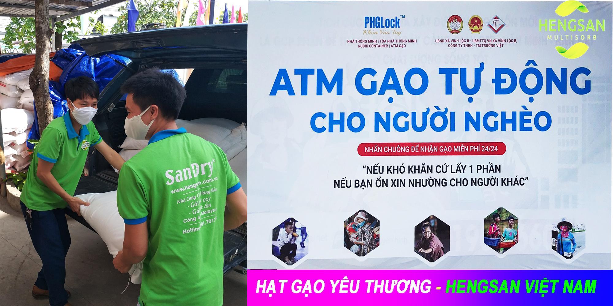 """Beloved Rice"" Charity program of Hengsan Vietnam"