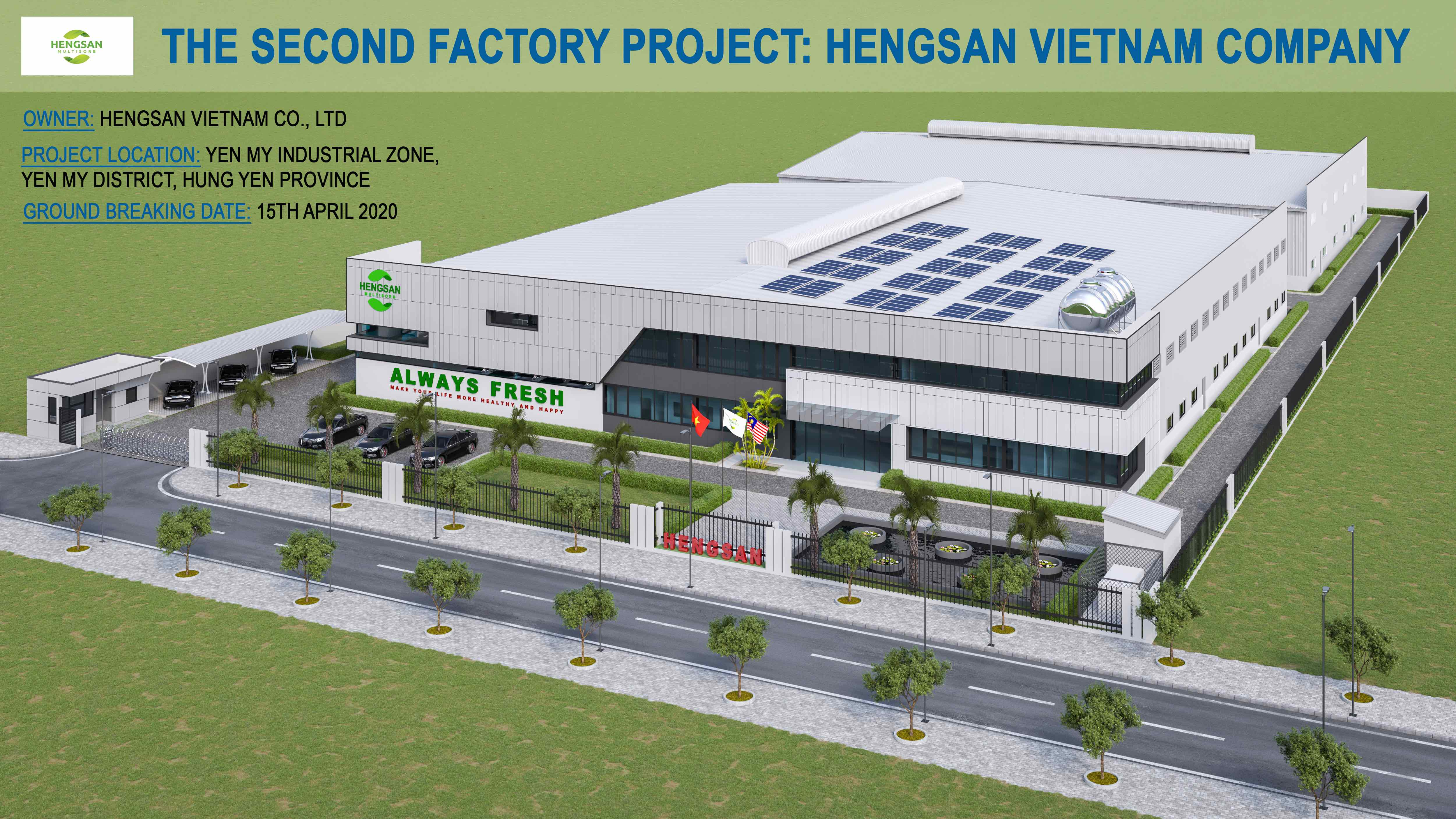The Second Factory Project: Hengsan Viet Nam Company